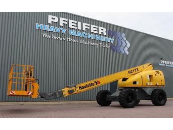 Teleskopbühne Haulotte H21TX Diesel, 4x4 Drive, 20.85m Working Height, 17
