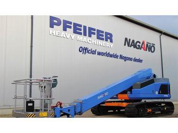 Teleskopbühne Nagano S15AUJ Tracked Boomlift, 15 m Working Height, Rubb