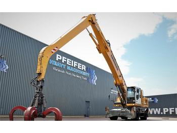 Umschlagbagger Liebherr A934C LITRONIC Straight Industrial-Mono Boom: 9600
