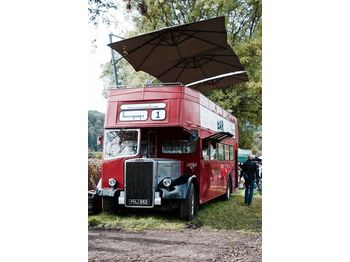 Leyland PD3 British Double Decker Bus Open Top Deck Pub Bar Hospitality - Doppeldeckerbus