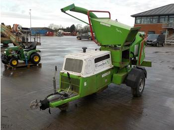 2006 GreenMech Single Axle Wood Chipper - Holzschredder