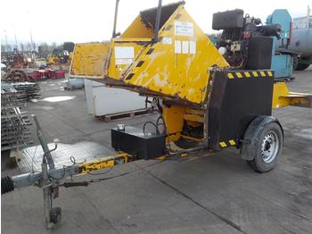 SCH Waste Wacker Minor, Single Axle Chipper - Holzschredder