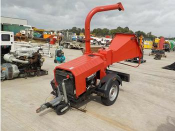 Single Axle Chipper, Lister Engine - Holzschredder