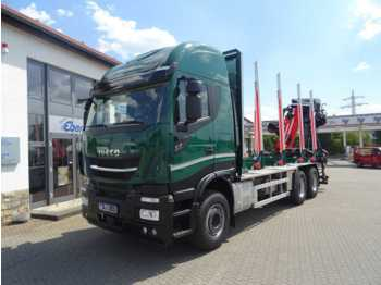 Leasing Iveco X-Way AS 260 X 51 Z/P HR ON+ / Cranab TZ12.2  - Holztransporter