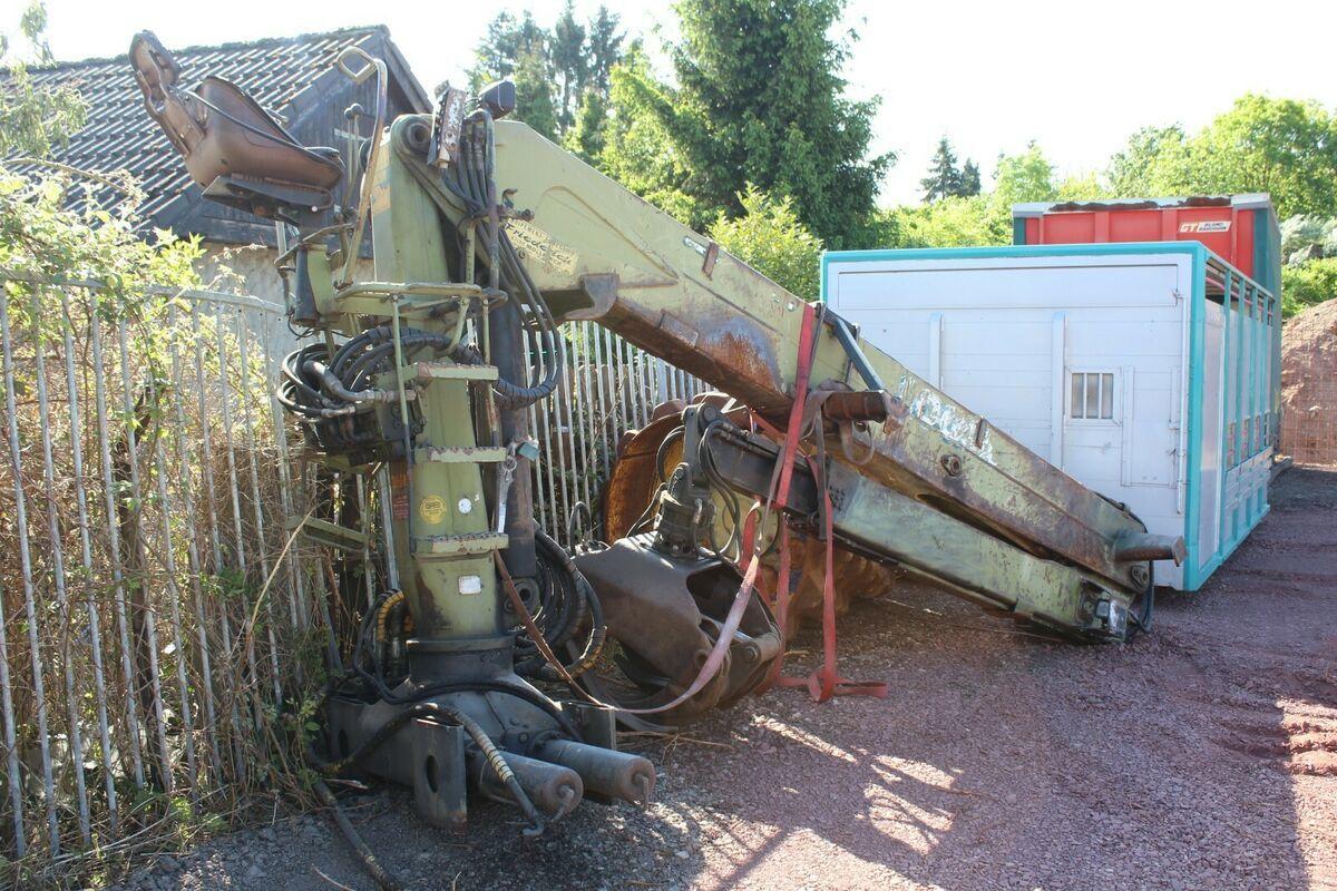 Holztransporter LogLift Holz Kran F241SL79A