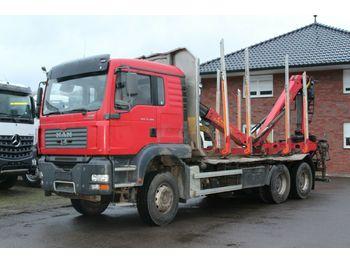 Holztransporter MAN TGS 33.480 6X4 Epsilon 110 Z