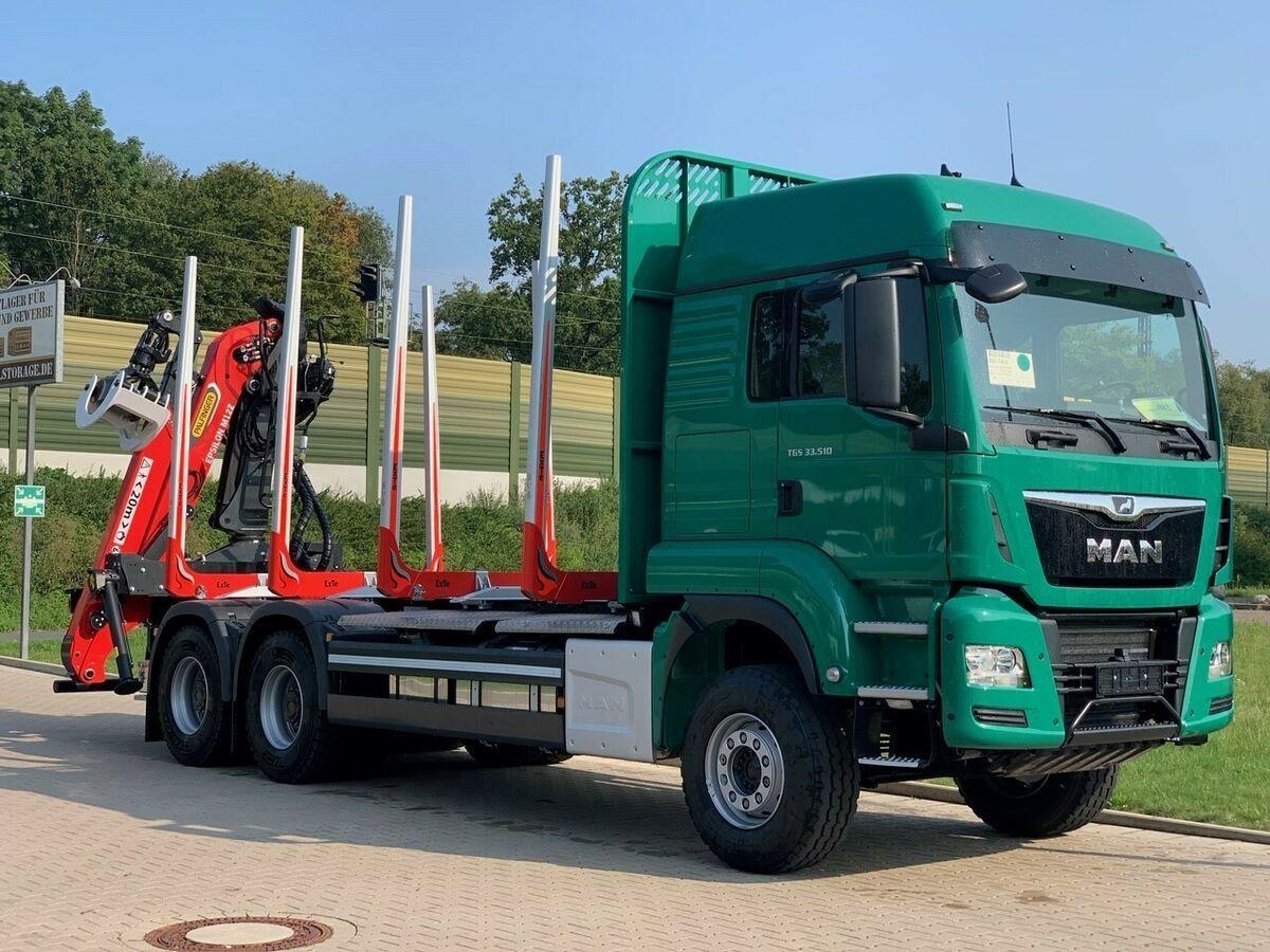 Holztransporter MAN TGS 33.510 6X4 BL / Euro6d  EPSILON M  12Z