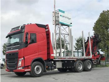 Holztransporter  Volvo - FH 13 500 BL 6x4
