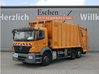 Müllwagen Mercedes-Benz 2529L 6x2 Axor*Haller 24m³*Zöller Schüttung*AC