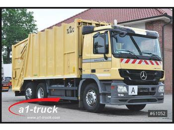 Müllwagen Mercedes-Benz Actros 2632 L, Haller X2C + Zoeller  Delta 2301,