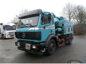 Saug-/ Spülfahrzeug Mercedes-Benz SK 1824 KOMBI:Saug/Druck/Spül/Diesel Heizöl Tank