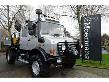 Kommunal-/Sonderfahrzeug Unimog U4000 4x4 DOKA