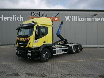 Abrollkipper Iveco AT260 SY460 Stralis 6x2*Lift/Lenk*Klima*Navi*ACC
