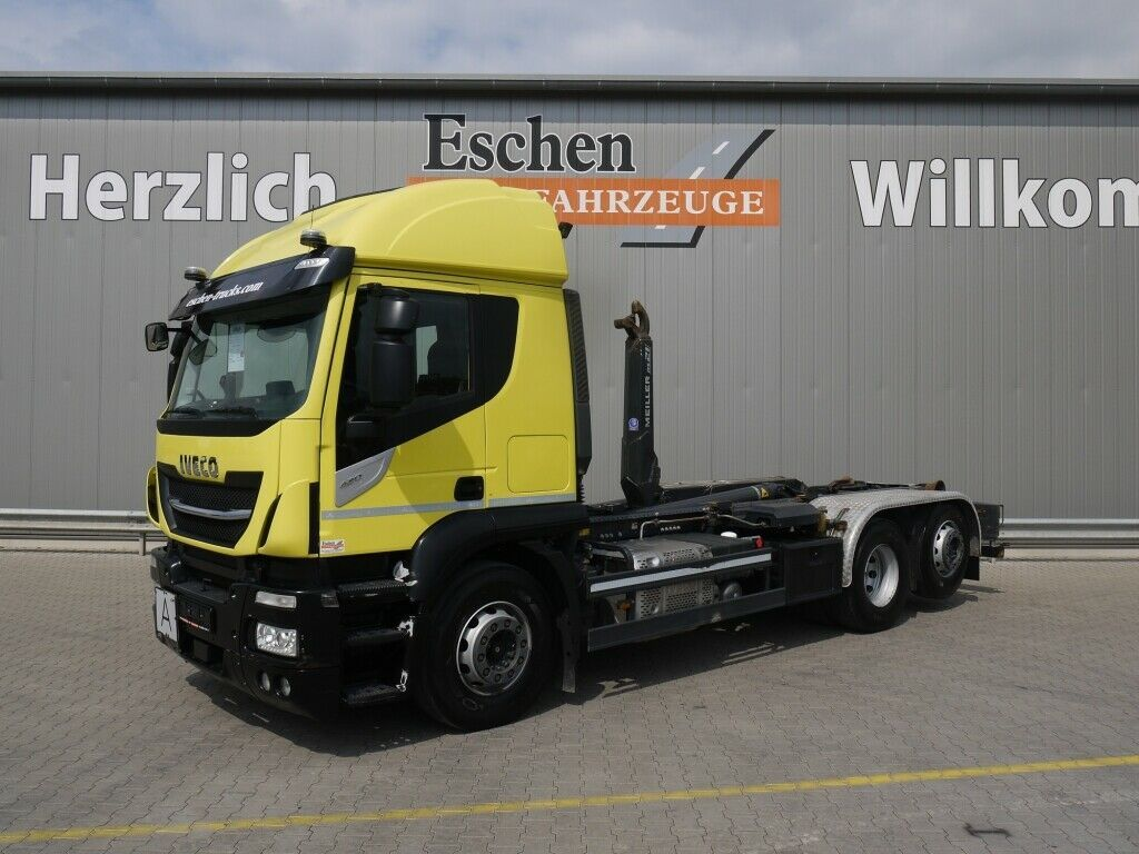 Abrollkipper Iveco AT260 SY/PS42*Meiller RS21.65*Lenk/Lift*Navi*ACC