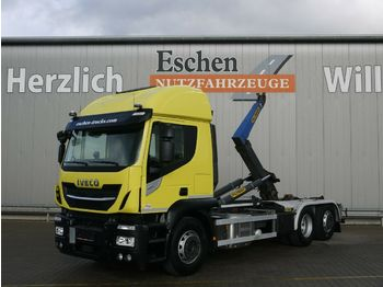Abrollkipper Iveco AT260 S 42 6x2 Lift/Lenk, 132 TKM, Palfinger T20