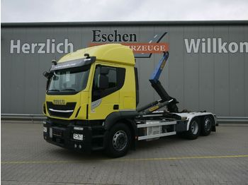Abrollkipper Iveco AT 260SY 420*Palfinger T20-31MPA*Lift/Lenk*Klima
