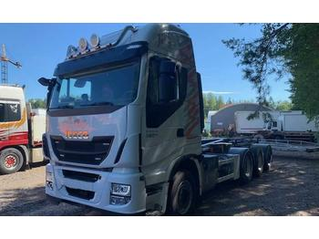 Abrollkipper Iveco Stralis AS 560 S46 8x4 (DAF-MAN)