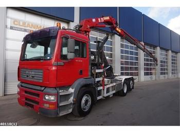 Abrollkipper MAN TGA 26.360 HMF 18 ton/meter laadkraan