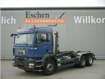 Abrollkipper MAN TGA 26.400 6x4BB*Multilift LHS26256*Klima*1.Hand