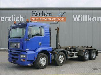 Abrollkipper MAN TGA 35.360 FFDLC, 8x4, EUR 3,Multilift LHS 32061
