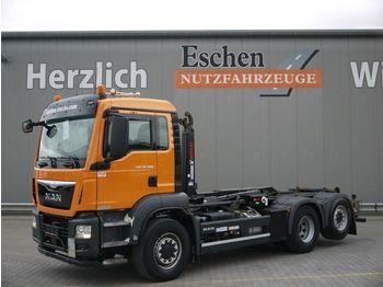 Abrollkipper MAN TGS 26.400 6x4 H-4BL*Multilift XR21S51*Lift/Lenk