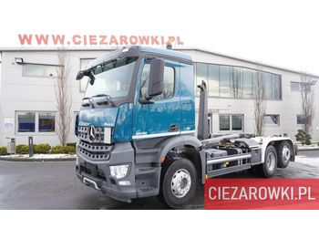Abrollkipper MERCEDES-BENZ Arocs 2532 , E6 ,120.000km , 6x2 , steer / lift axle , retarder
