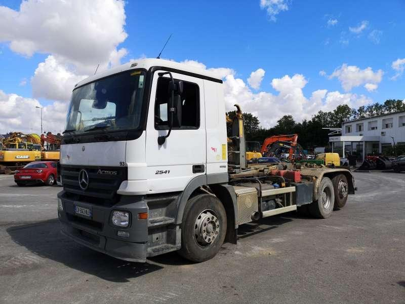 Abrollkipper Mercedes ACTROS 2541