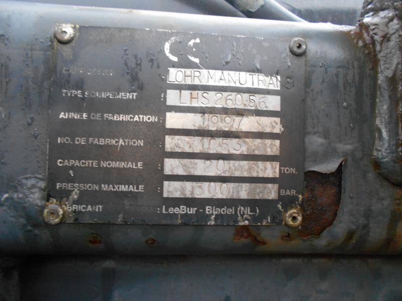 Abrollkipper Mercedes Actros 2531