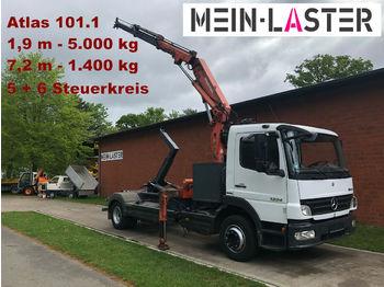Abrollkipper Mercedes-Benz 1224 Meiller Abroller +Atlas 101.1 - 7,3 m 1.4 t