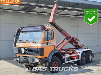 Abrollkipper Mercedes-Benz 2629 6X4 V8 Manual Big-Axle Steelsuspension