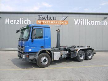 Abrollkipper Mercedes-Benz 2648 K, 6x4, Blatt, Meiller RK 20.60 Hakengerät