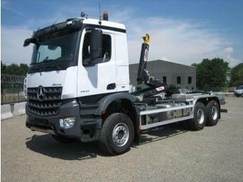 Abrollkipper Mercedes-Benz 3342 6X6 HYVA Abroller