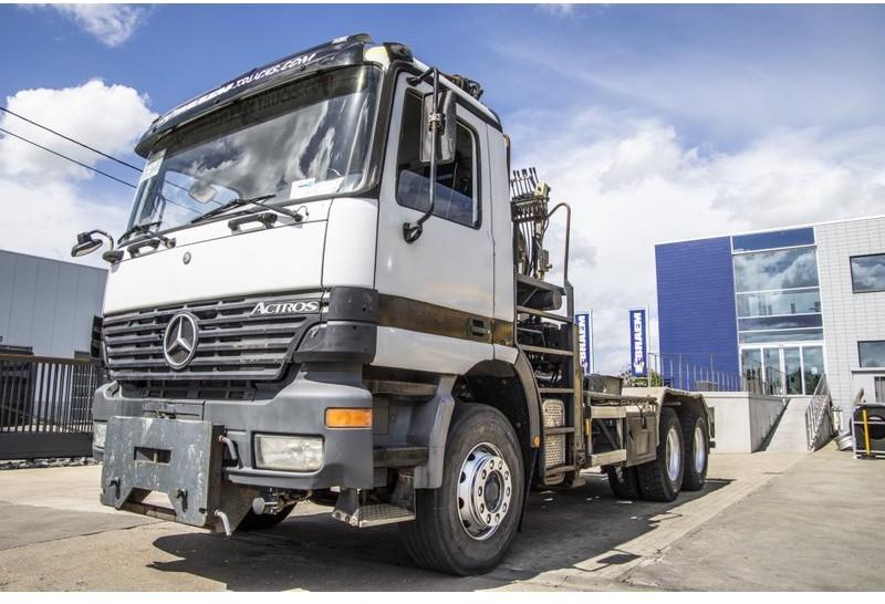 Abrollkipper Mercedes-Benz ACTROS 2635 K - ATLAS 170.2