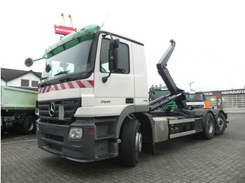 Abrollkipper Mercedes-Benz Actros 2541 L6x2 Abrollkipper Lenk+Lift nur 358T