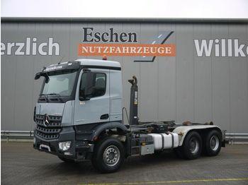 Abrollkipper Mercedes-Benz Arocs 2640L 6x4, HIAB XR21 S51, Klima, AP-Achsen