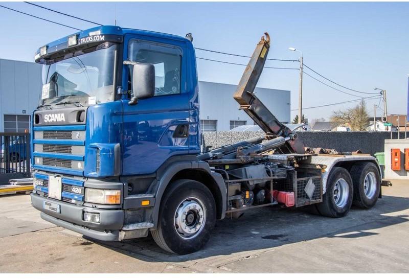 Abrollkipper Scania 124G.420 - 6X2 - 10 PNEUS / TIRES