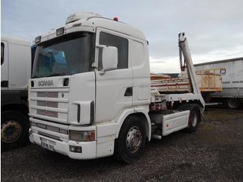 Abrollkipper Scania 144L 460