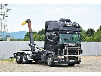 Abrollkipper Scania 164 L - 480 Abrollkipper 5,30m* Top Zustand!
