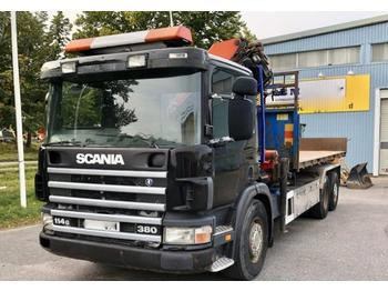 Scania P114GB  - Abrollkipper