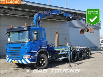 Abrollkipper Scania P360 8X4 Lift+Lenkachse Euro 5 Jonsered J1620 ZT93A