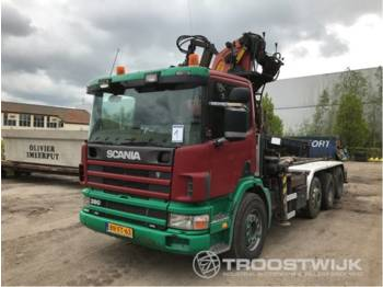 Scania P 114 GB 8x2/4 NA 380 - Abrollkipper