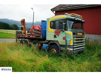 Abrollkipper Scania R144