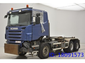 Abrollkipper Scania R480 - 6x4