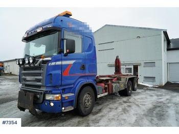 Abrollkipper Scania R500
