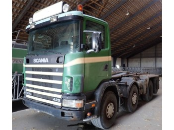 Scania R 124 - Abrollkipper