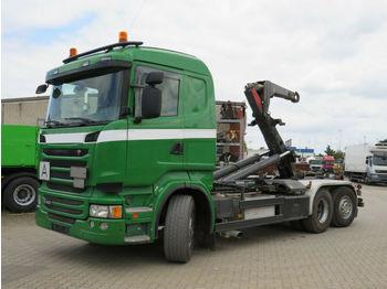 Abrollkipper Scania R 400 6x2 Abrollkipper Meiller Schub+Knickhaken