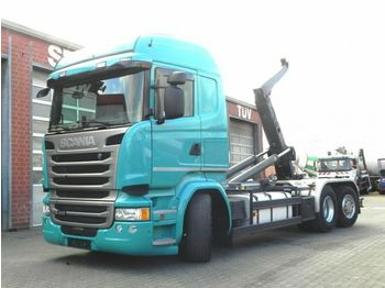 Abrollkipper Scania R 410 6x2 Abrollkipper Meiller, Lift/Lenk