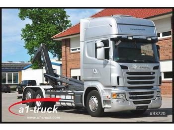 Abrollkipper Scania R 480LB 6X2, Meiller, Retarder, Xenon,