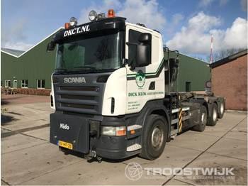 Abrollkipper Scania R 480 b 8x2/4