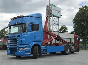 Abrollkipper  Scania - R 500 V 8 Hyva Abroller 20 60 S
